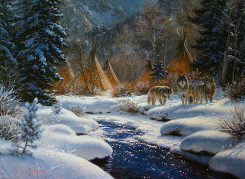 Winter Intruders - 1000+pc Large Format Jigsaw Puzzle By Sunsout