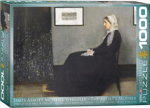 Artist Mother, James Abbott McNeill Whistler - 1000pc Jigsaw Puzzle by Eurographics (discon)