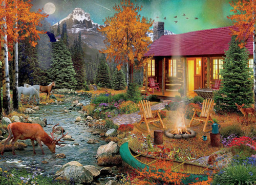 David Maclean: Aurora Lights - 1000pc Jigsaw Puzzle by Ceaco