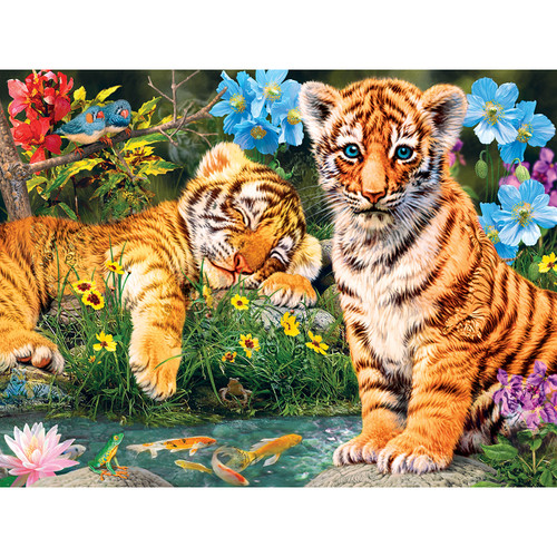 Hidden Images: A Watchful Eye - 550pc Glow-in-the-Dark Jigsaw Puzzle by Masterpieces