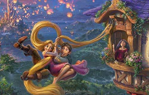 Thomas Kinkade Disney Dreams: Tangled - 750pc Jigsaw Puzzle by Ceaco