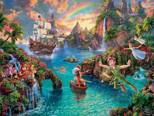 Thomas Kinkade Disney Dreams: Peter Pan - 750pc Jigsaw Puzzle by Ceaco