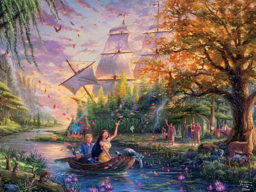 Thomas Kinkade Disney Dreams: Pocahontas - 750pc Jigsaw Puzzle by Ceaco