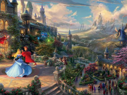 Thomas Kinkade Disney Dreams: Sleeping Beauty Enchanting - 750pc Jigsaw Puzzle by Ceaco