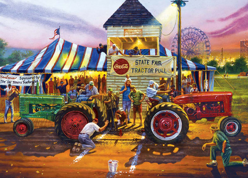 Farm & Country: For Top Honors - 1000pc Jigsaw Puzzle by Masterpieces