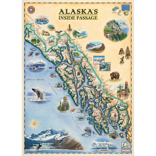 Xplorer: Inside Passage - 1000pc Jigsaw Puzzle by Masterpieces