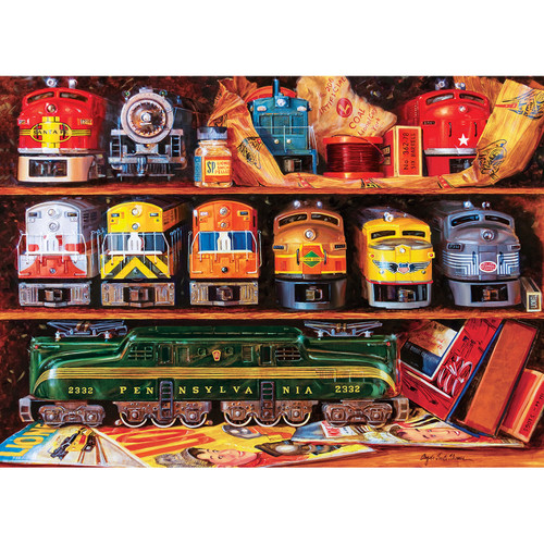 Lionel: Well-Stocked Shelves - 1000pc Jigsaw Puzzle by Masterpieces