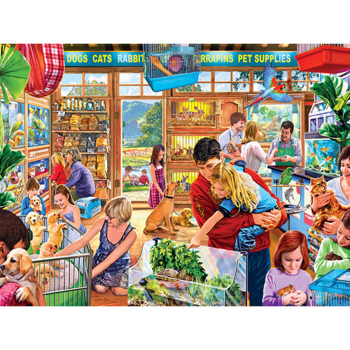 Lucy's First Pet - 750pc Jigsaw Puzzle by Masterpieces