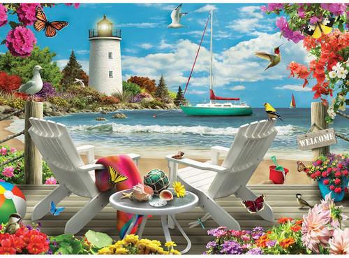 Memory Lane: Coastal Escape - 1000pc Jigsaw Puzzle by Masterpieces