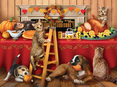 Give Thanks - 300pc Jigsaw Puzzle By Sunsout