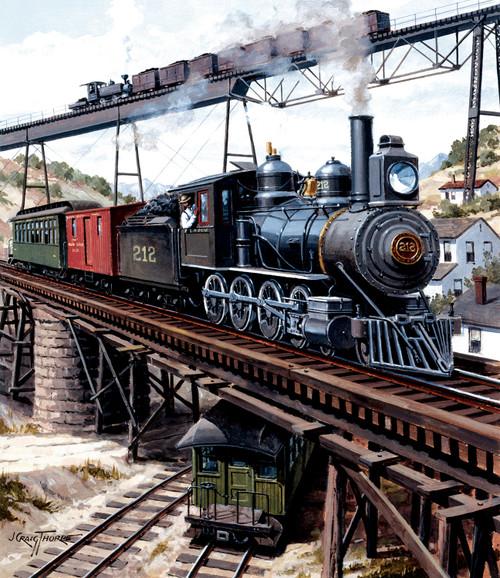 Locomotive GXB 14919 - 550pc Jigsaw Puzzle By Sunsout