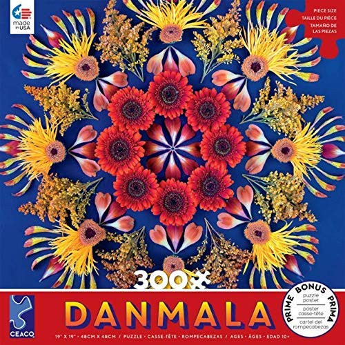 Danmala: Red - 300pc Large Format Jigsaw Puzzle by Ceaco
