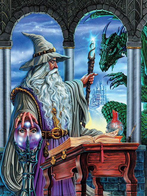 Fantasy: Wizard's Emissary - 750pc Jigsaw Puzzle by Ceaco