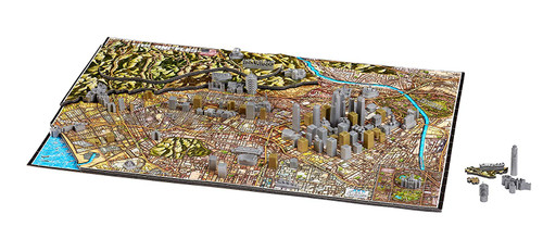 Los Angeles - 4D Cityscape Puzzle