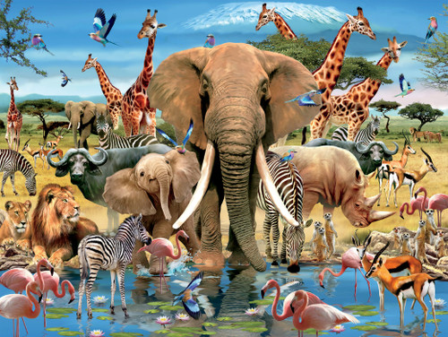 Robinson: Africana - 1500pc Jigsaw Puzzle by Ceaco