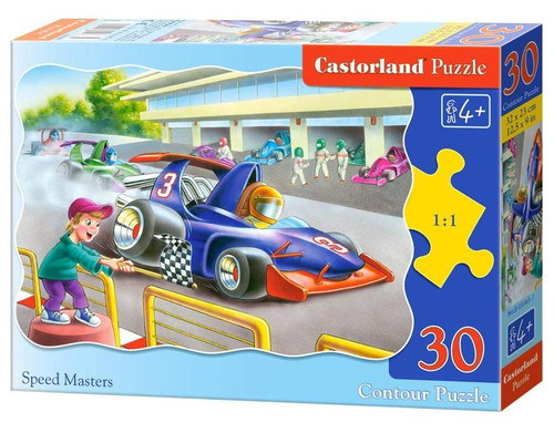 Speed Masters - 30pc Shaped Jigsaw Puzzle By Castorland