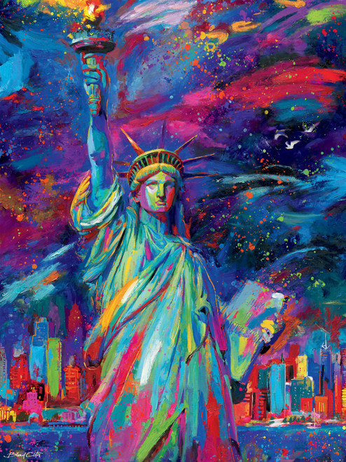Blend Cota: Lady Liberty - 550pc Jigsaw Puzzle by Ceaco