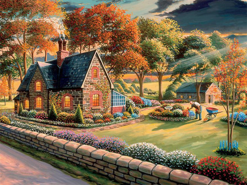 Coming Home - 750pc Jigsaw Puzzle by Ceaco