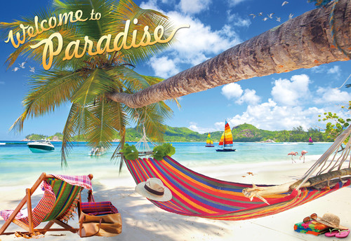Welcome to Paradise - 2000pc Jigsaw Puzzle by Buffalo Games