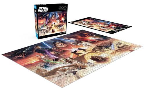 Buffalo Games Star Wars I Sense Great Fear in You Skywalker 1000 Piece Jigsaw Puzzle