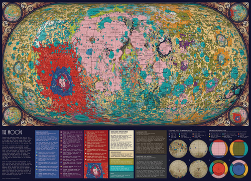 The Moon - 1000pc Jigsaw Puzzle By Cobble Hill