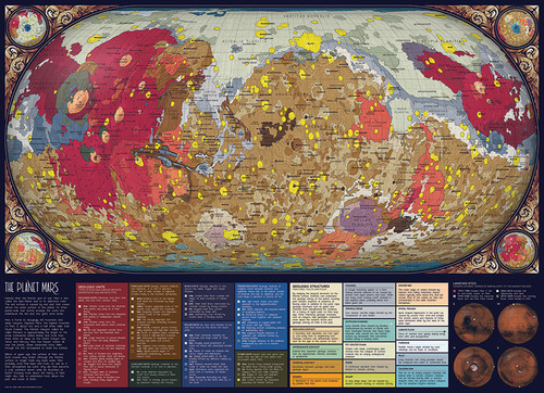 The Planet Mars - 1000pc Jigsaw Puzzle By Cobble Hill