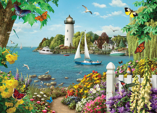 By the Bay - 500pc Jigsaw Puzzle By Cobble Hill
