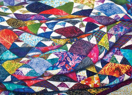 Portrait of a Quilt - 500pc Jigsaw Puzzle By Cobble Hill