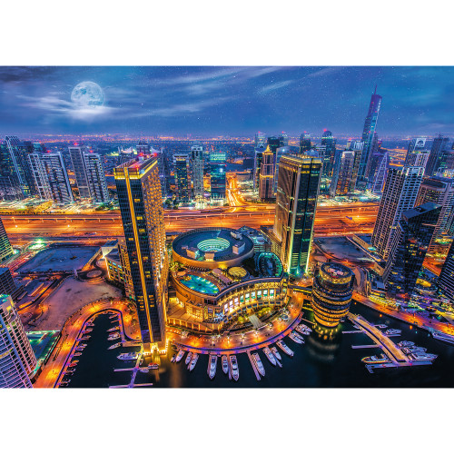 Lights of Dubai - 2000pc Jigsaw Puzzle By Trefl