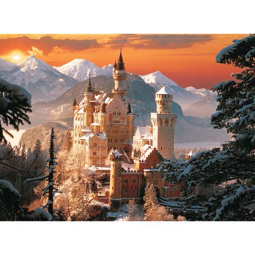 Wintry Neuschwanstein Castle, Germany - 3000pc Jigsaw Puzzle By Trefl