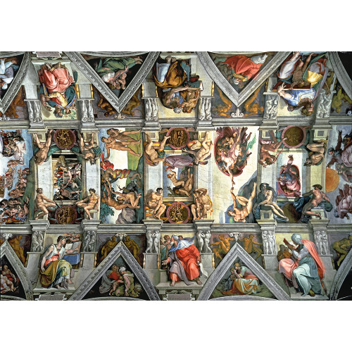 Sistine Chapel Ceiling - 6000pc Jigsaw Puzzle By Trefl