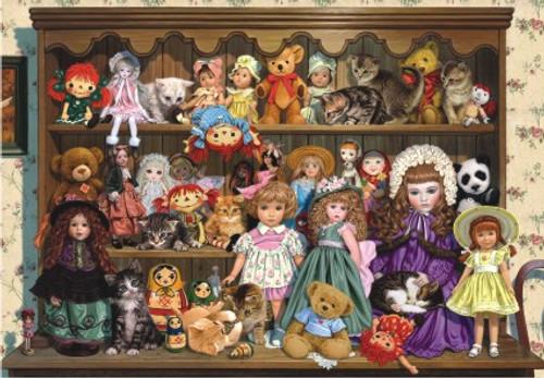 Anatolian Grandma's Dresser Jigsaw Puzzle
