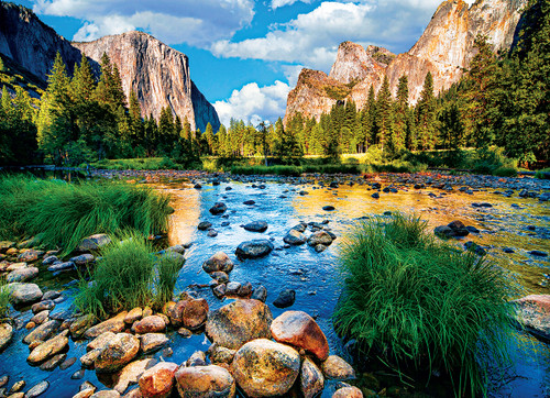 Yosemite National Park California - 1000pc Jigsaw Puzzle by Eurographics