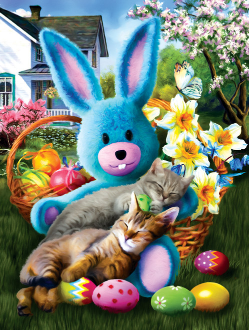 Easter Buddies - 500pc Jigsaw Puzzle By Sunsout