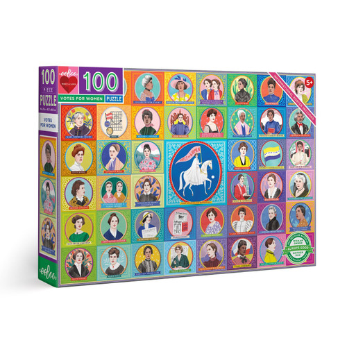 Votes for Women - 100pc Jigsaw Puzzle by eeBoo