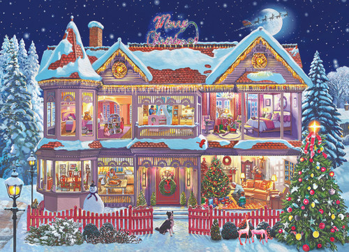 Getting Ready Christmas by Steve Crisp - 1000pc Jigsaw Puzzle by Eurographics