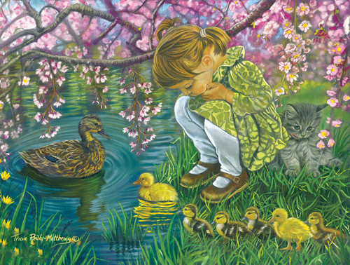A Mother's Love - 300pc Large Format Jigsaw Puzzle By Sunsout