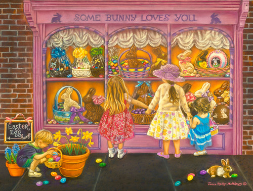 Some Bunny Loves You  - 300pc Large Format Jigsaw Puzzle By Sunsout