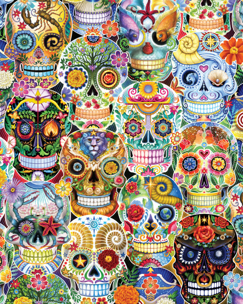 Day of the Dead - 1000pc Jigsaw Puzzle by Vermont Christmas Company