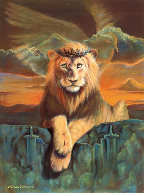 Lion of Judah - 500pc Jigsaw Puzzle By Sunsout