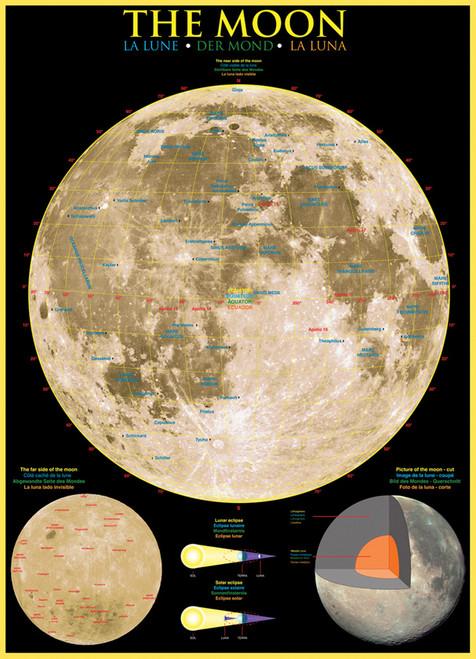 Eurographics Jigsaw Puzzles - The Moon