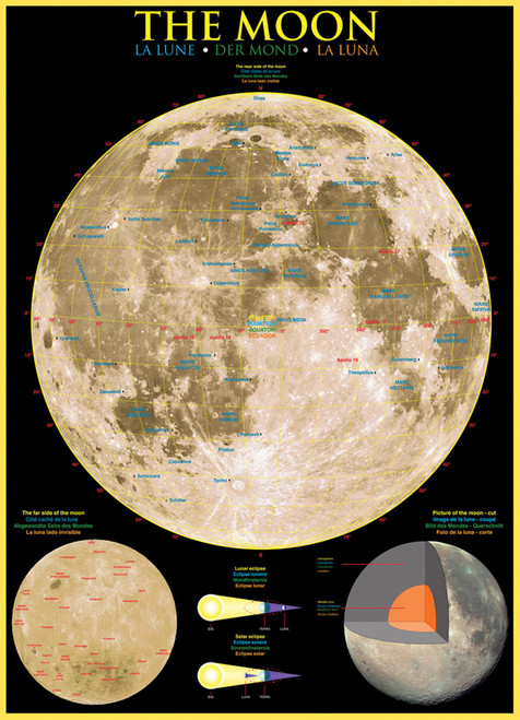 Eurographics Jigsaw Puzzles - The Moon