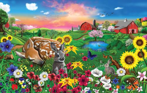 Pasture Buddies - 100pc Jigsaw Puzzle By Sunsout