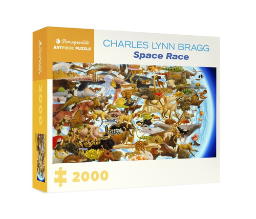 Bragg: Space Race - 2000pc Jigsaw Puzzle by Pomegranate