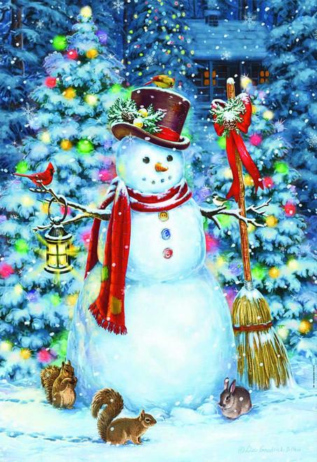 Woodland Snowman - 500pc Jigsaw Puzzle by Educa