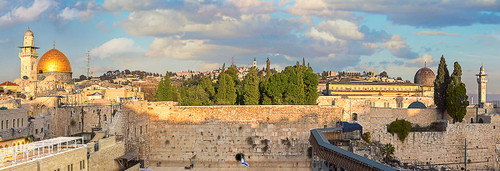 Jerusalem - 1000pc Panoramic Jigsaw Puzzle by Eurographics