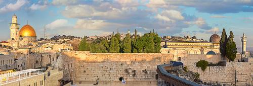 Jerusalem - 1000pc Panoramic Jigsaw Puzzle by Eurographics