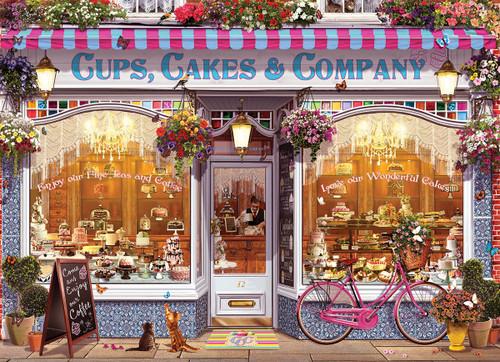 Walton: Cups, Cakes & Company - 1000pc Jigsaw Puzzle by Eurographics