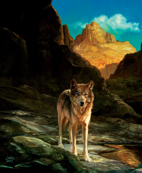 Lone Wolf - 1000pc Jigsaw Puzzle By Sunsout