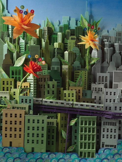 Smarter Greener Better - 500pc Jigsaw Puzzle by New York Puzzle Company